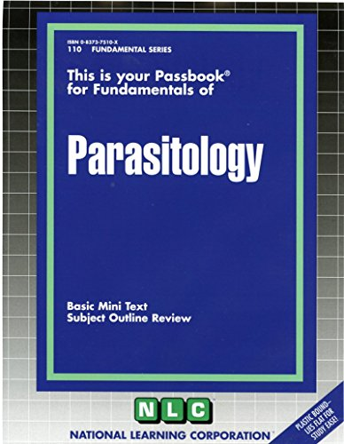 PARASITOLOGY (Fundamental Series) (Passbooks)