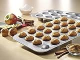 USA Pan Bakeware Mini Cupcake and Muffin Pan, 24