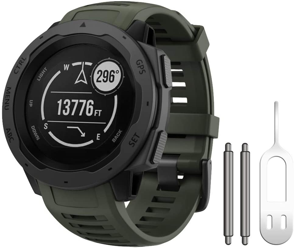Notocity Kompatibel Mit Armband Garmin Instinct Silikon Elektronik