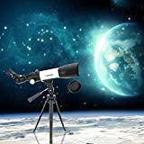 HD Visionking CF50350 120X 350/50mm Monocular Space Astronomical Telescope Refractor Scope with Tripod Compass