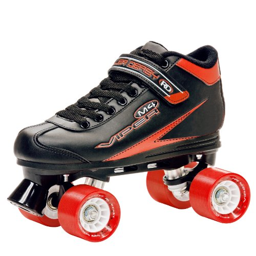 Roller Derby Men's Viper M4 Speed Quad Skate, Size 07