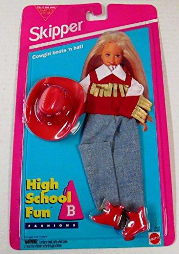 Barbie Skipper Cowgirl Outfit - High School Fun Fashions (Skipper Outfit)