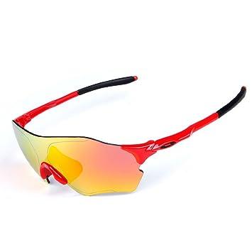b54dbb1160 Gafas de sol deportivas Luz polarizada Bicicleta Protección UV 400  Anti-niebla Corriendo Gafas Adaptación