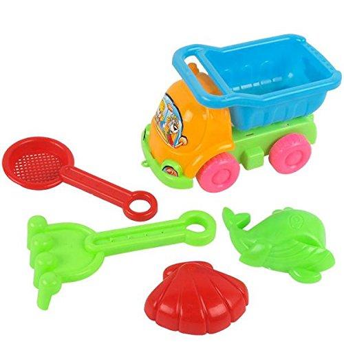 【ノーブランド 品】おもちゃ 子供 ビーチ車 プレイセット ギフト マルチカラーの商品画像