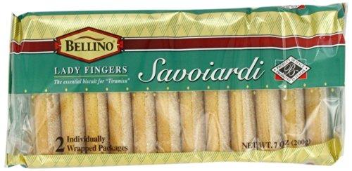 Bellino - Italian Savoiardi [Lady Fingers], (3)- 7 oz. Pkgs.