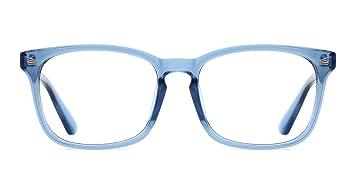 TIJN Retro Gafas Anteojos ópticos Lente Claro Gafas Para ...