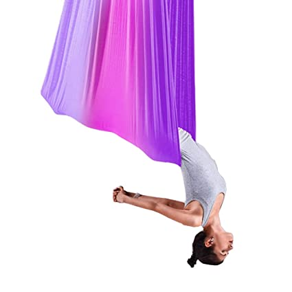 Amazon.com : LML Aerial Silks Equipment, Aerial Yoga Swing ...