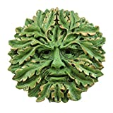 Top Collection Garden Oak Green Man Plaque Figurine