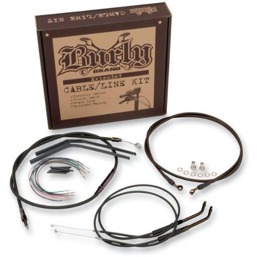 Burly Brand B30-1017 18 Handlebar Wiring Installation Kit for Harley-Davidson Softail