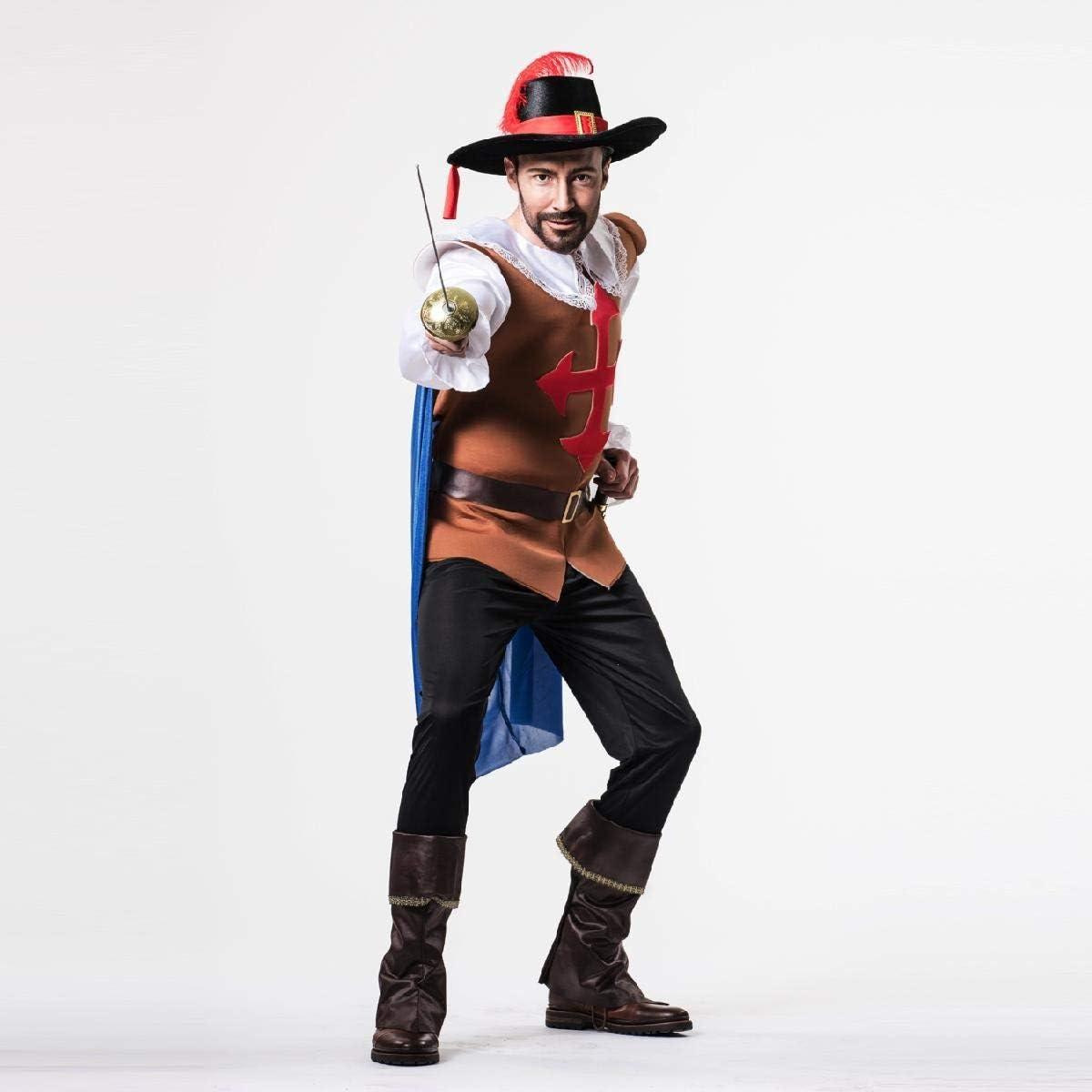 Disfraz de Mosquetero para hombre: Amazon.es: Juguetes y juegos