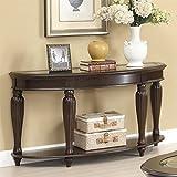 Coaster 703849 Home Furnishings Sofa Table, Dark Merlot