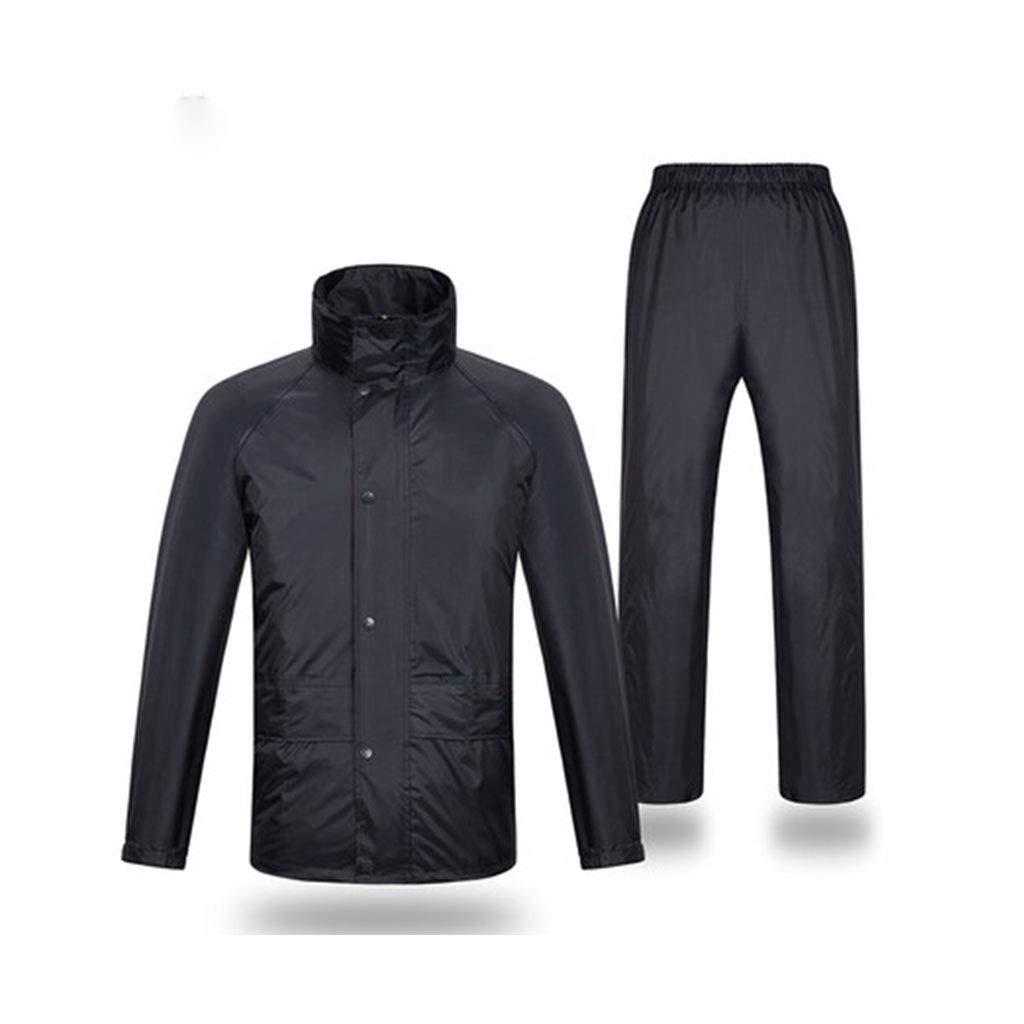 Navy Medium Ldwxxx Ensemble de Pantalon imperméable imperméable, Gilet imperméable, imperméable réutilisable (Couleur   Navy, Taille   XXL)