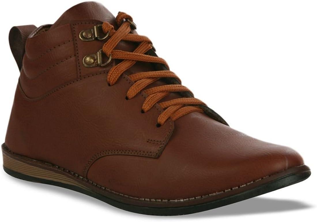 Mochites , Chaussures de ville à lacets pour homme Marron