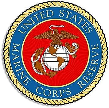 Sticker    USMC Marine Corps Reserve Decal