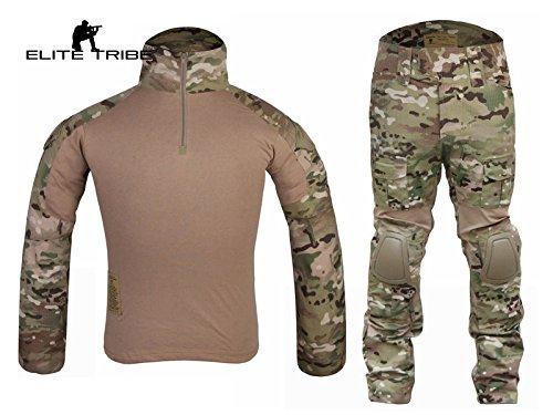 Airsoft caza táctico militar para Bdu combate G2uniforme camiseta pantalones Multicam Tactical Outdoor