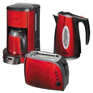 moulinex lt261d toaster subito rot metallic rot schwarz radio. Black Bedroom Furniture Sets. Home Design Ideas