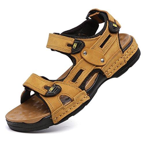 da Da Spiaggia 40 Sandali Dimensione Sportivi Giallo Giallo Spiaggia Traspiranti Uomo EU Sandali Da spiaggia Colore pantofole Da Con Wagsiyi Scarpe n1Uw8OXqx