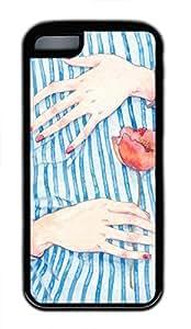 iPhone 5c case, Cute Hug iPhone 5c Cover, iPhone 5c Cases, Soft Black iPhone 5c Covers