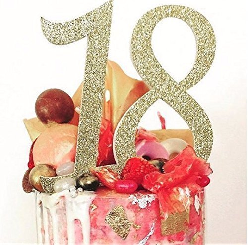 18th Birthday Cake Topper Party Decoration Personalise With Any Age