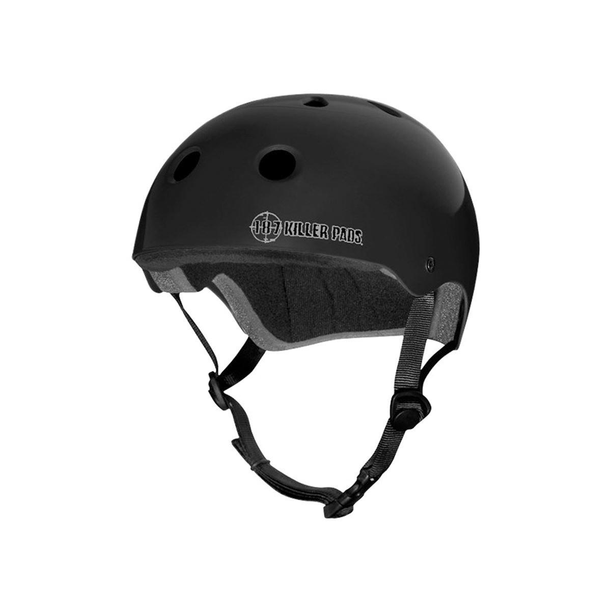 187 Killer Pads Pro Skate Helmet - Matte Black - XX-Large