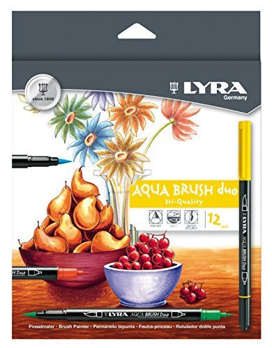 Lyra Aqua Brush Duo Estuche rotuladores de color