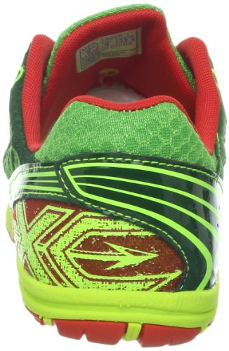 Saucony Mens Kilkenny Xc5 Cross-country Schoen Groen / Citron