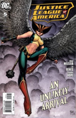 Download Justice League of America #5 (Arthur Adams Variant) pdf