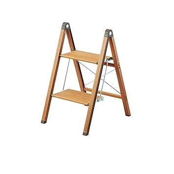 Escalera de Mano Taburete Plegable Escalera Taburete Madera Maciza Plegable Espiga Escalera Estante de Flores Escalera Plegable multifunción Espesamiento Escalera de Mano (Size : 45.5X39X19CM): Amazon.es: Electrónica