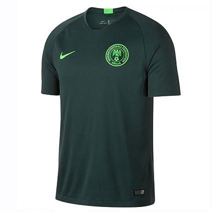Nike 2018-2019 Nigeria Away Football Soccer T-Shirt  Amazon.co.uk  Sports    Outdoors 114ee5a1b