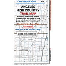 Trail Map Angeles High Country Map