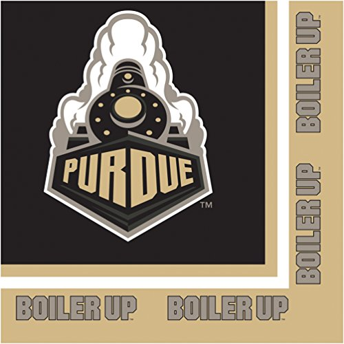 (Creative Converting Purdue University Lunch Napkins, 20-Count)