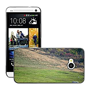 Super Stella Slim PC Hard Case Cover Skin Armor Shell Protection // M00145679 Meadow Horse Nature Animal Summer // HTC One M7