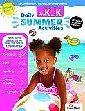 Evan-Moor Daily Summer Activities, Between Pre-K and Kindergarten Activity Book; Summer Learning Workbook for Children