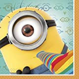 Despicable Me Beverage Napkins, 16ct