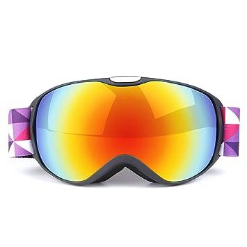 HCMONSTER Gafas de Esqui Lentes de Doble Capa para niños Gafas para la Nieve Gafas antivaho
