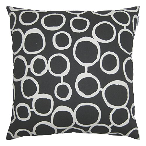 JinStyles Circle Cotton Canvas Decorative Throw Pillow Cover
