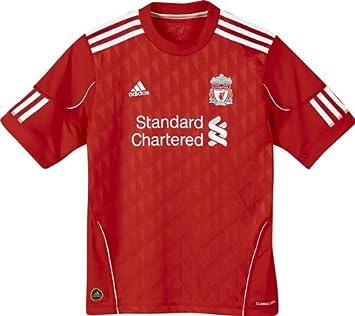 0cbd9bf76ffc adidas LFC H Jsy Y Liverpool FC Home Football Shirt Red White