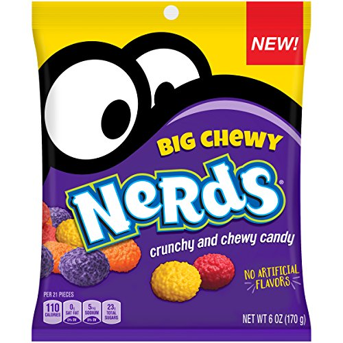 Nerds Big Chewy Candy, 6 Ounces (Pack of -