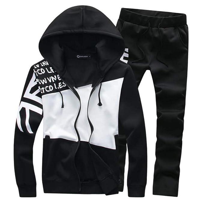 Amazon.com: Sudadera con capucha para hombre, ajuste delgado ...