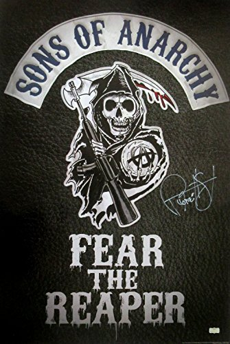 "Ryan Hurst ""Opie Winston"" Autographed/Signed Sons of Anarchy 36x24 Poster with ""Opie"" Inscription - Fear the Reaper"