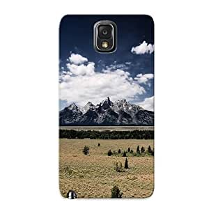 Exultantor Durable Defender Case For Galaxy Note 3 Tpu Cover(wonderful Mountain Scene) Best Gift Choice