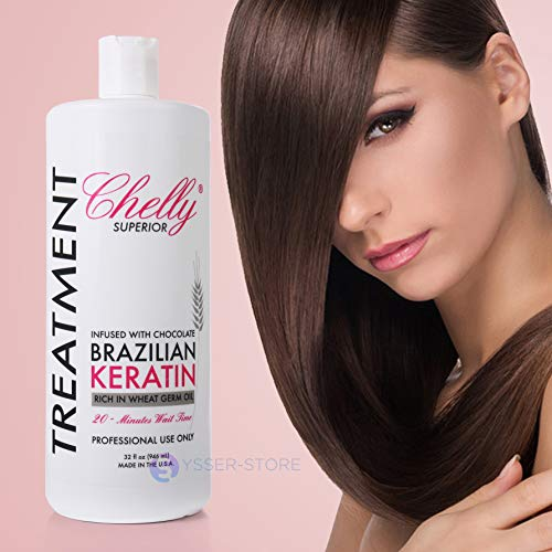 SUPERIOR BRAZILIAN KERATIN TREATMENT INFUSED WITH CHOCOLATE 32 Oz 946 mL (Queratina Chocolate)