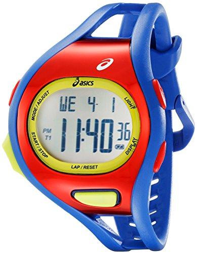 ASICS Unisex CQAR0709 Digital Watch With Blue Band