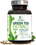 #2: Green Tea Extract 98% with EGCG for Weight Loss 1000mg - Boost Metabolism for Healthy Heart - Antioxidants & Polyphenols for Immune System - Gentle Caffeine - Natural Fat Burner Pills - 120 Capsules