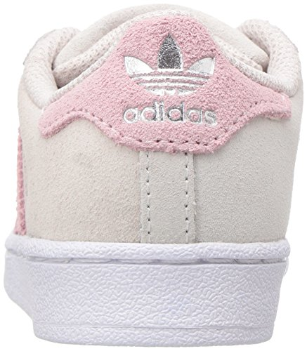 Grey adidas Ice Pink Originals Trainers Ice Pearl Boys' Superstar Pink q4qBXv