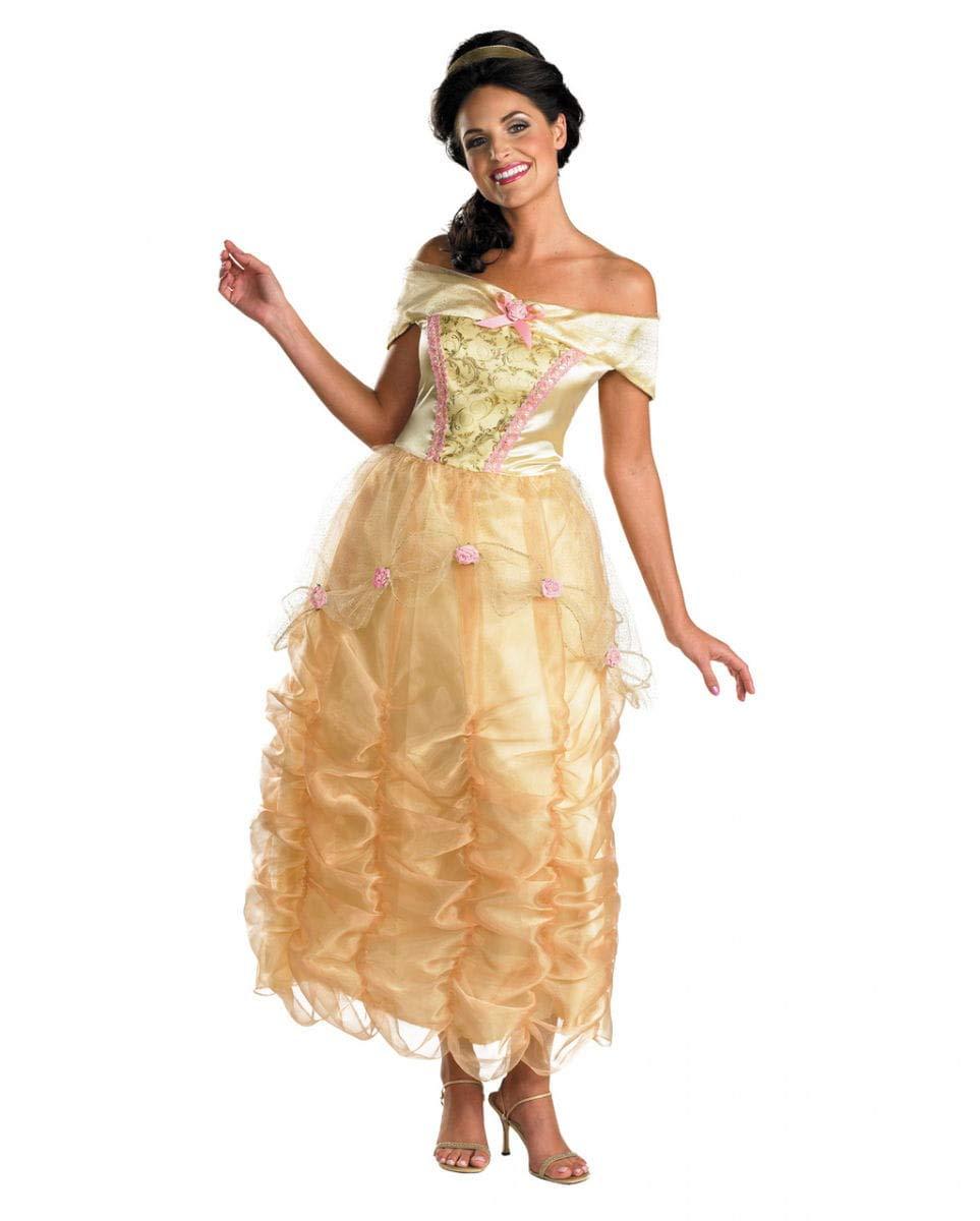 Horror-Shop Disney Belle Damenkostüm Deluxe M: Amazon.es ...
