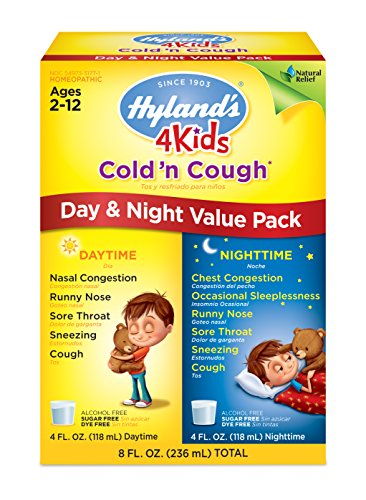Amazon com: Kids Relief Cough and Cold Syrup, 8 5 Fluid Ounce