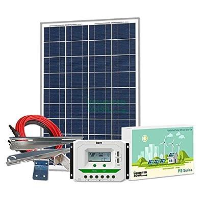 Unlimited Solar P4 Series 100 Watt 12 Volt Off-Grid Solar Panel Kit