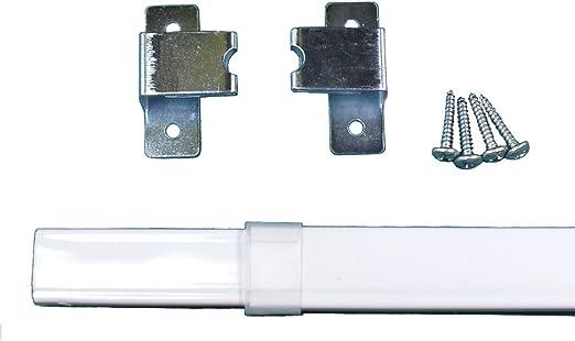 Amazon Com One Kirsch Flat Sash Rod For Top Bottom Doors