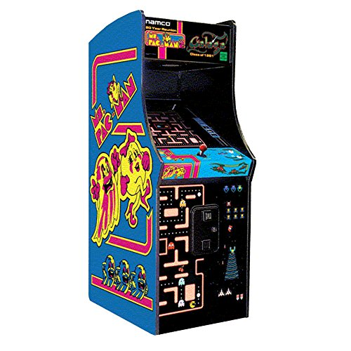 Ms. Pac-Man / Galaga Class of 1981 Arcade Gaming Cabinet